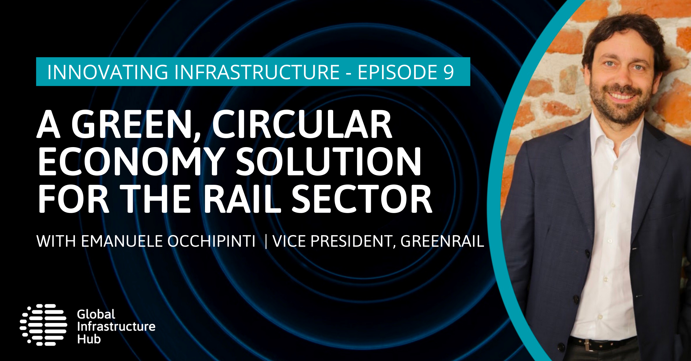 A green, circular economy solution for the rail sector